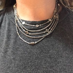 Lois Hill five strand necklace